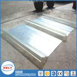Placa acanalada cristalina del policarbonato de los mejores del precio perfiles antis de la gota varios