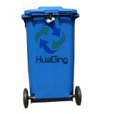 balde do lixo de borracha plástico da roda do escaninho de lixo 240L para ao ar livre