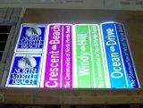 Знамя гибкого трубопровода печатание полного цвета нестандартной конструкции дешевое отражательное