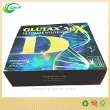 El rectángulo de empaquetado de papel del efecto de la alta calidad 3D con insignia grabó (CKT-CB-501)