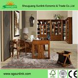 Mobília moderna do quarto do hotel da madeira contínua do projeto agradável (EMT-K02)