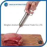 Инжектор маринада мяса приправой нержавеющей стали с 2 иглами