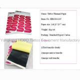 Hojas termales del papel 100 de la plantilla del grado del tatuaje del tatuaje superior de los accesorios