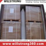 Único painel da placa de alumínio para o revestimento da parede