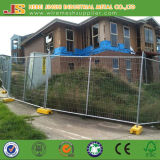 Galvanisierter temporärer Zaun mit dem biegsamen Trägermaterial hergestellt in China