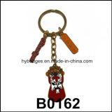 Parti dell'anello chiave, anello chiave del fumetto sveglio (GZHY-KA-031)
