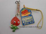 Скачками шарж Keychains, симпатичный милый ключевой значок (GZHY-KA-028)