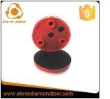 4 de Klitband die van de duim het Plastic Stootkussen van de Steun Klindex met 3 Gaten steunen