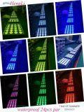 24PCS LEDのCe&RoHS (HL-028)の防水洗浄の効果ライト