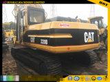 Máquina escavadora usada 320b da lagarta, máquina escavadora de segunda mão 320b da esteira rolante, máquina escavadora usada do gato 320bl