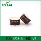 Kundenspezifisches Firmenzeichen gedruckte doppelte PET überzogenes Papier-Eiscreme-Behälter 2-32oz