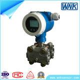 Transmissor de pressão diferencial do protocolo FS Hart de 0,075% para líquido de gás aereo