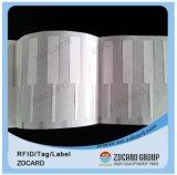 Etiqueta imprimible de la escritura de la etiqueta del cartel de la etiqueta engomada de Nfc