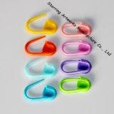 goupilles de sécurité en plastique de couche-culotte de douche de bébé de couleurs de sucrerie de 22mm petites