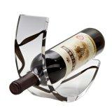 Het acryl Rek van de Wijn/de AcrylTribune van het Tafelblad/de AcrylVertoning van de Fles