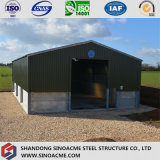 倉庫のためのプレハブの軽い鋼鉄建物