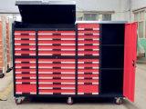 Bancada de aço, armários de ferramenta do armazenamento do metal, armários de ferramenta
