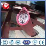1.9/3.3 kilovoltios de la máquina de cable carbonífero del caucho