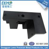 Часть машинного оборудования CNC точности алюминиевая черная анодированная (LM-1064A)