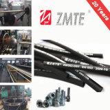 Boyau hydraulique flexible de bonne qualité de tresse de SAE J517 2sc