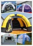 Взорвать Надувные Реклама Палатки с 4 Столбов