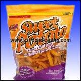 Saco das microplaquetas de batata da folha do produto comestível