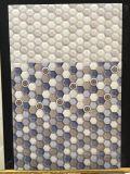 파란 단계변화 6각형 패턴 목욕 0. 룸 세라믹 벽 도와
