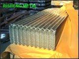 folha de aço galvanizada 0.14-0.6mm da telhadura