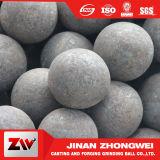 O material de moedura Dia35mm da esfera de aço 45# forjou a esfera