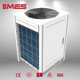 Uso Comercial Bomba de calor de la fuente del aire 13.5kw para el agua caliente de 80 grados C
