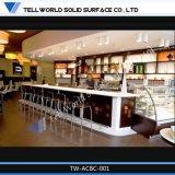 Cusotm 대중음식점 긴 기성품 바 카운터 가짜 대리석 빗장 카운터의 150의 종류 디자인