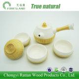 Tazas de té chinas de cerámica del conjunto de té de la porcelana del crisol del té