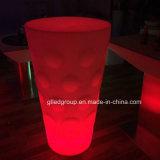 다채로운 LED에 의하여 점화되는 커피용 탁자의 현대 LED 가구