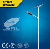 Réverbère solaire avec le GV de RoHS de la CE de la batterie au lithium 12V IP65