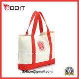 Kundenspezifisches Förderung-Geschenk-mehrfachverwendbarer Baumwolltote-Einkaufen-Segeltuch-Beutel