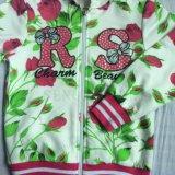 Ватка/французские костюмы спорта Терри Gilr в одеждах детей (промелькните-вверх hoodies+pant) Sq-6212