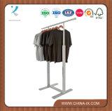 ハング棒が付いているカスタマイズされた流行の調節可能な衣服ラック