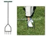 Gradenのツールの手動芝生のスパイクの通風器