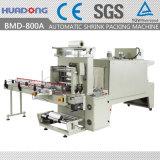 Máquina Shrinking da película de embalagem do Shrink do calor automático da garrafa de água