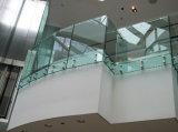 Railing Frameless крылечку стеклянный/балюстрада Tempered стекла с En 12150 DIN