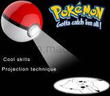 Третье поколение Pokemon идет крен силы с проекцией Pikachu