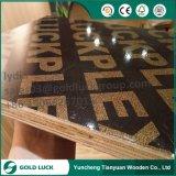 13 plis de béton noir rouge-brun forme M. Film Faced Shuttering Plywood