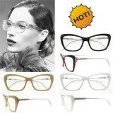 De Met de hand gemaakte Acetaat Eyewear van de Vrouwen van de manier met Ce en FDA