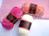 Acrylbaumwolle mischte und strickte Garn, Häkelarbeit-Garn, Baby-Garn, fantastisches Garn mit der Hand (JD-8043)