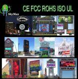 Écran polychrome de publicité électronique de LED extérieur