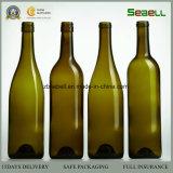 Frasco de vidro de China, frasco de vidro de vinho 750ml na cor do sílex (NA-005)
