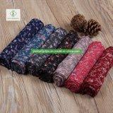 100% dickflüssige Retro gedruckte Schal-Form-Blumendame Moslem Scarf