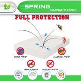 El protector del colchón de la cubierta de base de la relevación de la alergia Zippered