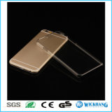 Caisse dure de peau de PC clair transparent pour l'iPhone 6