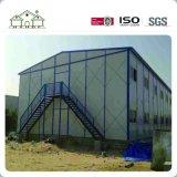 Casa pre fabuloso clara personalizada da construção de aço para a venda